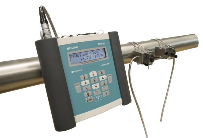 Caudalímetros Ultrasónicos Portátiles - FLEXIM