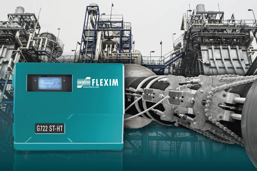 Caudalímetros Ultrasónicos Externos para Vapor - FLEXIM