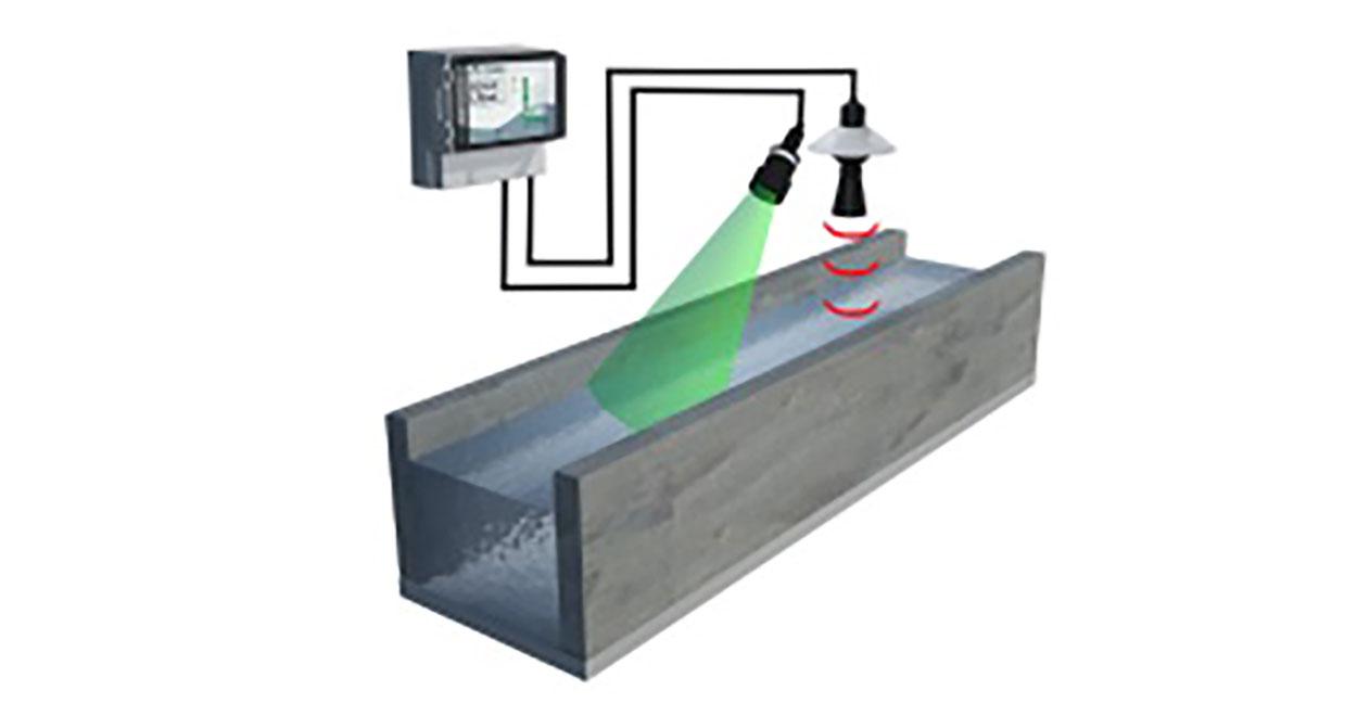 Medición de caudal en canales abiertos – MicroFlow+FlowCERT