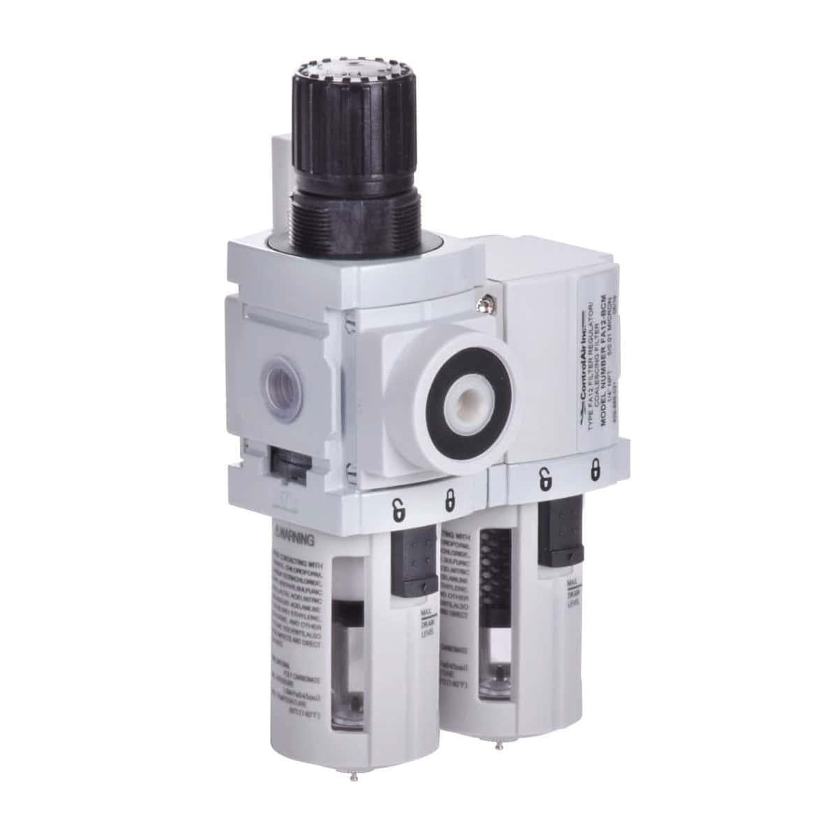 Combo Filtro Regulador/ Filtro Coalescente modelo FA12 - Control Air