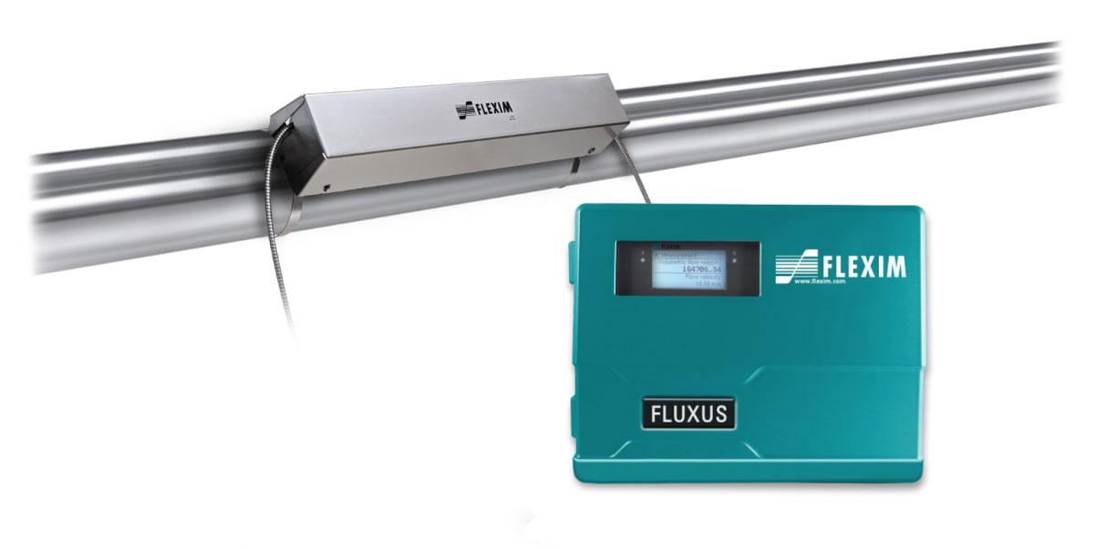Caudalímetro Ultrasónico para Redes de Agua - FLUXUS® WD