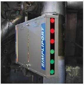 Indicador de nivel bicolor para calderas de alta presión - Clark Reliance