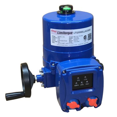 Actuador eléctrico compacto para aplicaciones ¼ vuelta. Limitorque LTQ series.