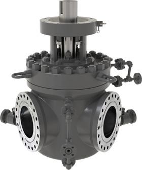 Válvulas para control de fluidos abrasivos - MOGAS